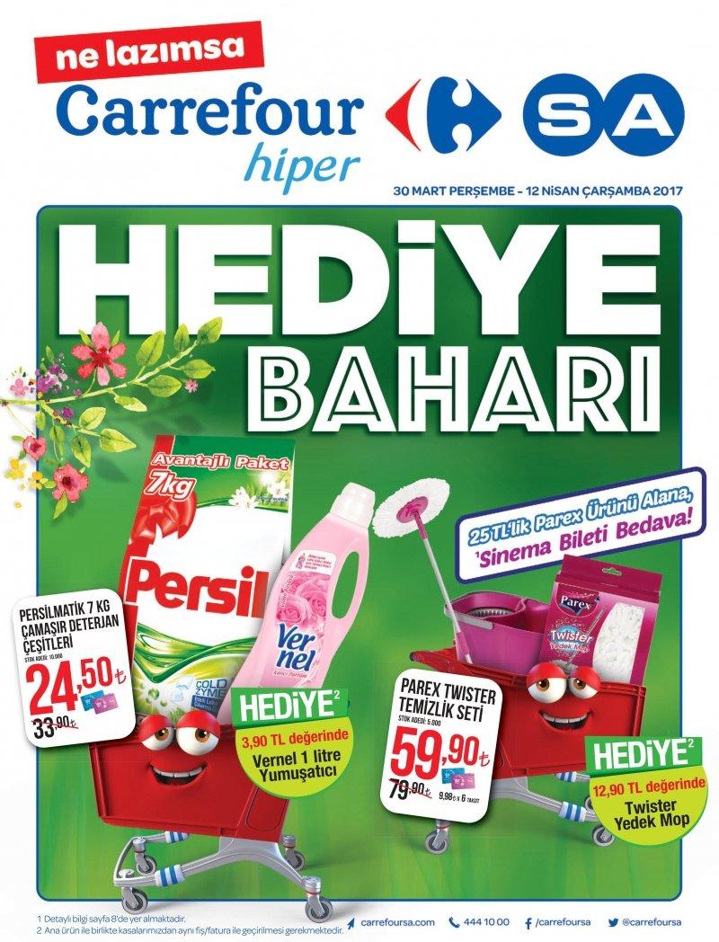 30 Mart Carrefour Hiper Aktüel 2017 - Sayfa 1