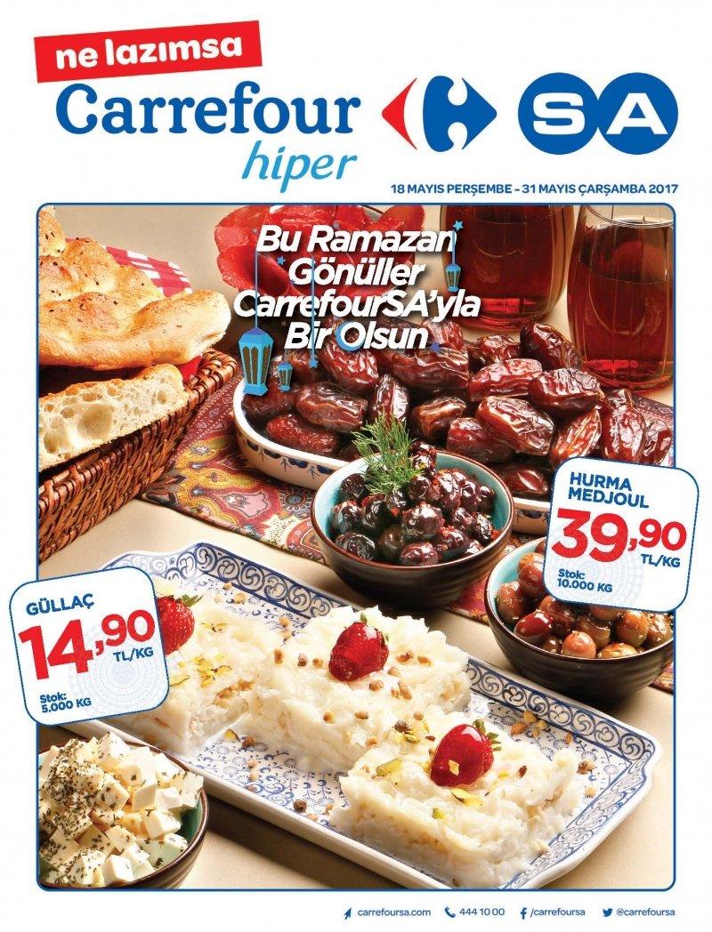 18 Mayıs Carrefour Hiper Aktüel 2017 - Sayfa 1