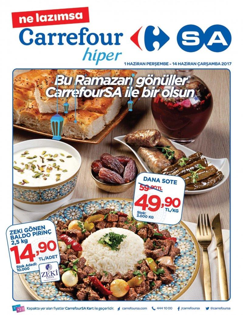 1 Haziran Carrefour Hiper Aktüel 2017 - Sayfa 1