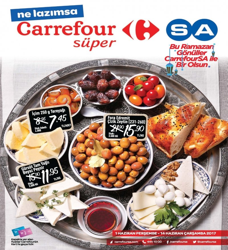 1 Haziran Carrefour Süper Aktüel 2017 - Sayfa 1