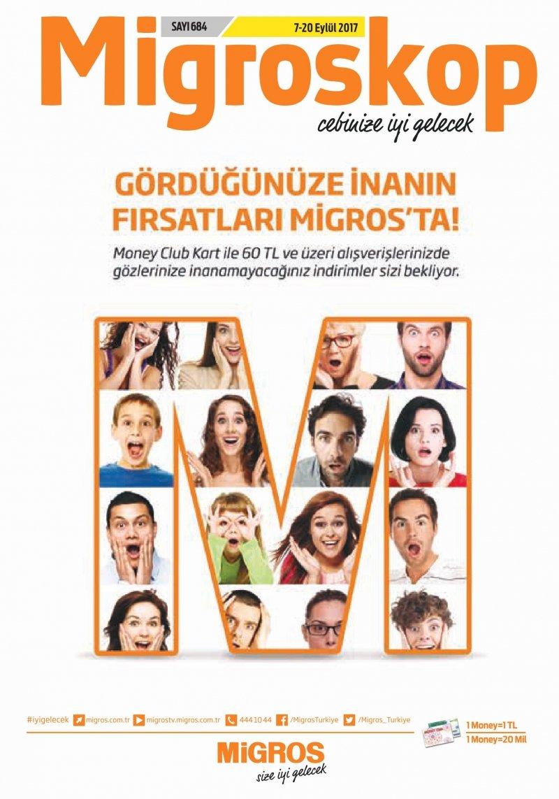 7 Eylül Migros Aktüel 2017 - Sayfa 1
