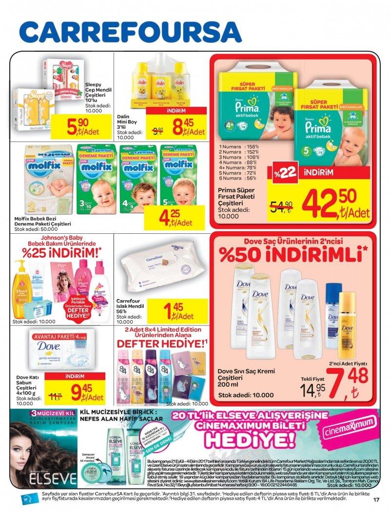 21 Eylül Carrefour Aktüel 2017 - Sayfa 1