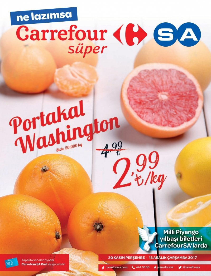 30 Kasım Carrefour Kentsel Aktüel 2017 - Sayfa 1