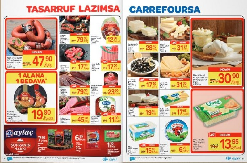 5 Ocak Carrefour Aktüel 2018 - Sayfa 1