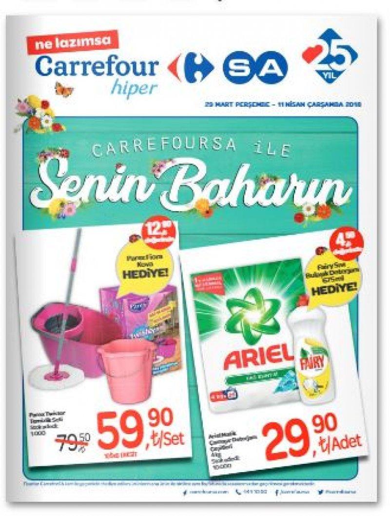 29 Mart Carrefour Aktüel 2018 - Sayfa 1
