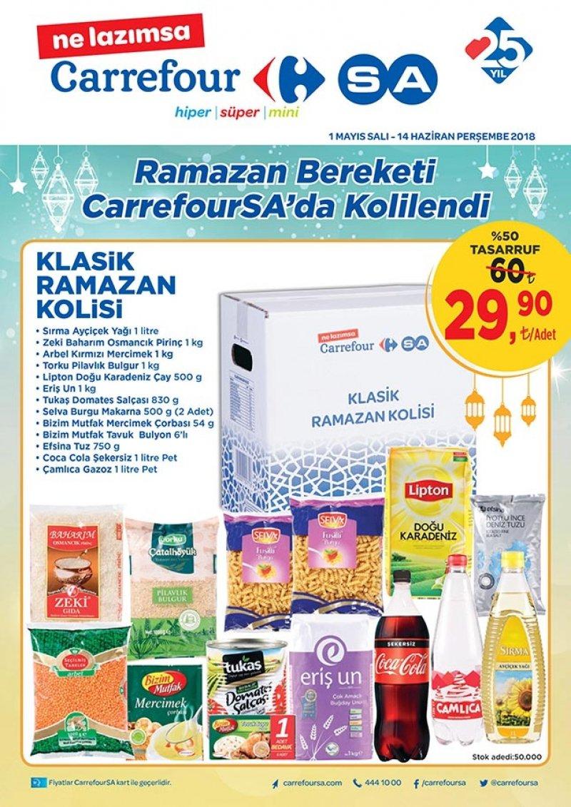 1 Mayıs Carrefour Aktüel 2018 - Sayfa 1