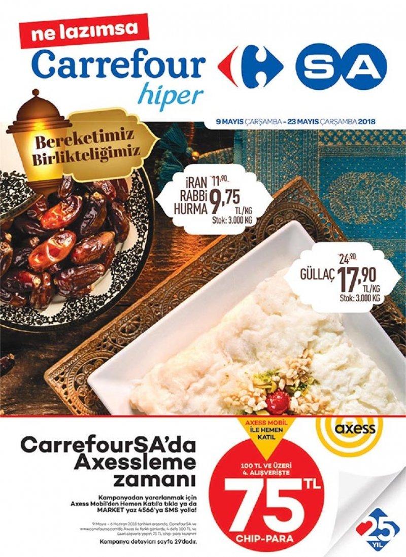 9 Mayıs Carrefour Aktüel 2018 - Sayfa 1