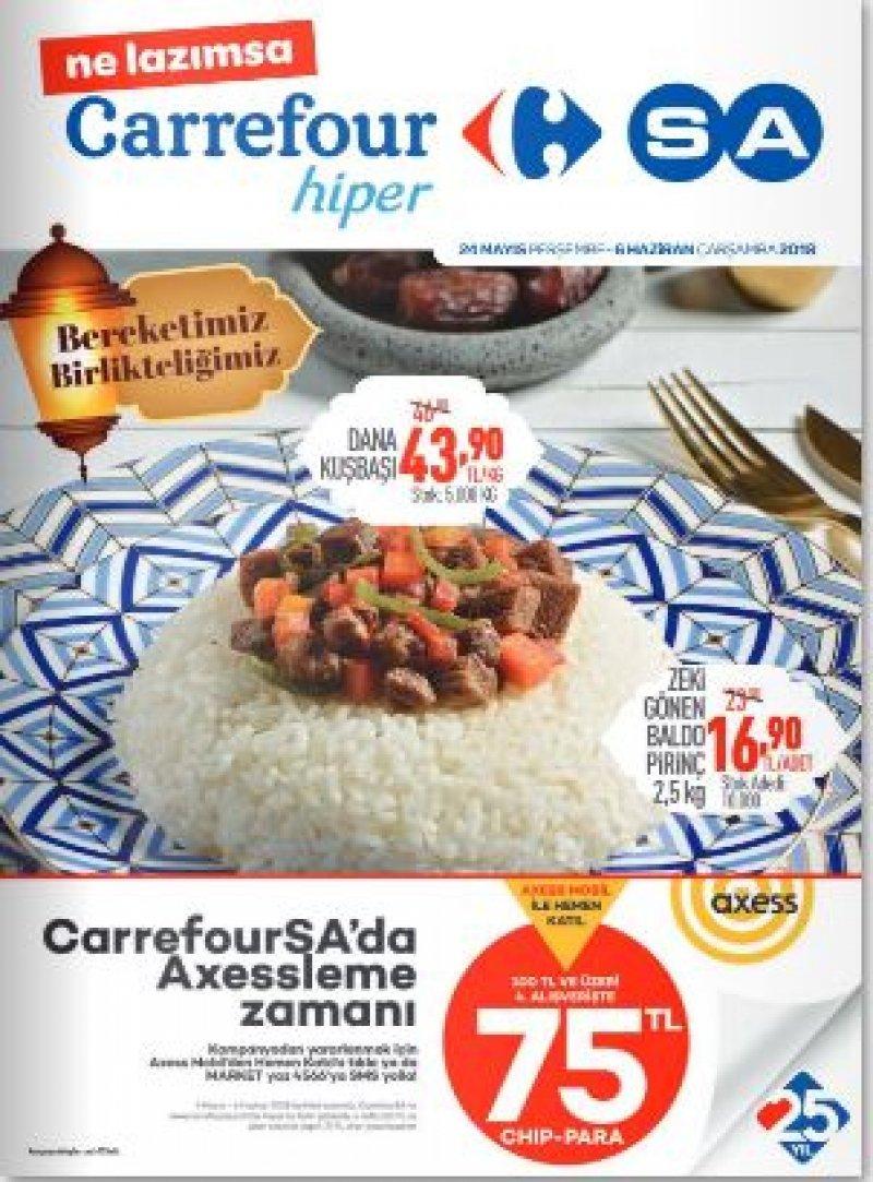 24 Mayıs Carrefour Aktüel 2018 - Sayfa 1