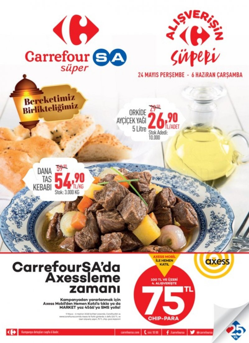 25 Mayıs Carrefour Aktüel 2018 - Sayfa 1