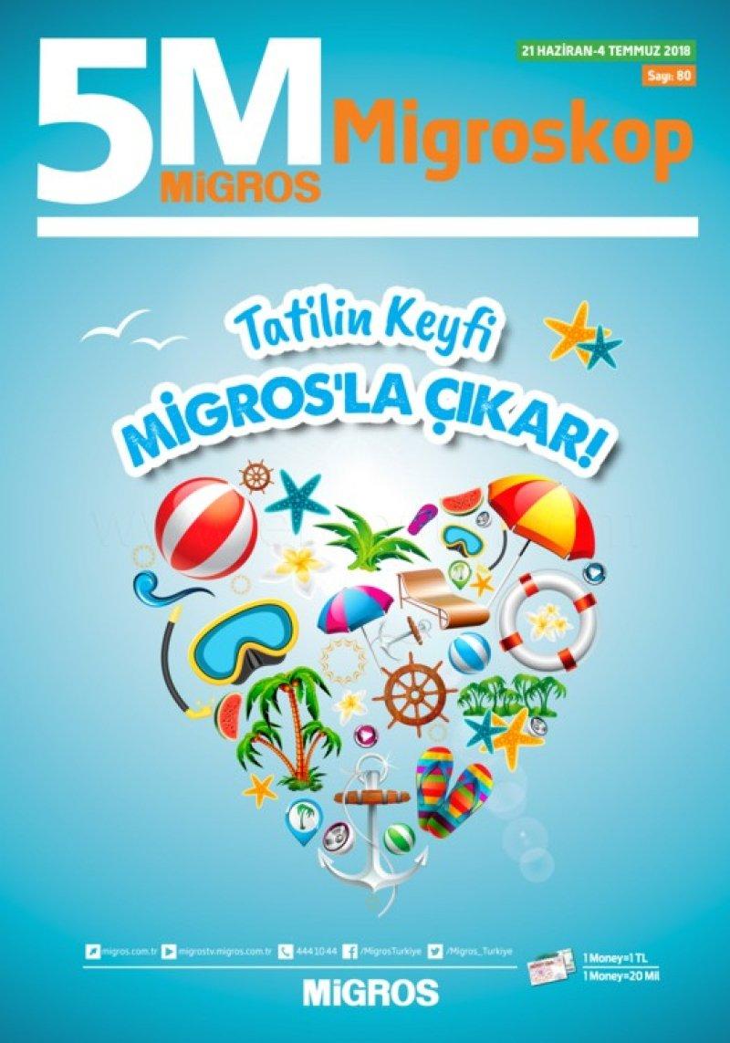 21 Haziran Migros Aktüel 2018 - Sayfa 1