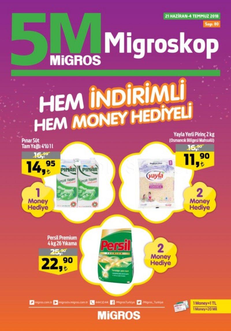 21 Haziran 5M Migros Aktüel 2018 - Sayfa 1