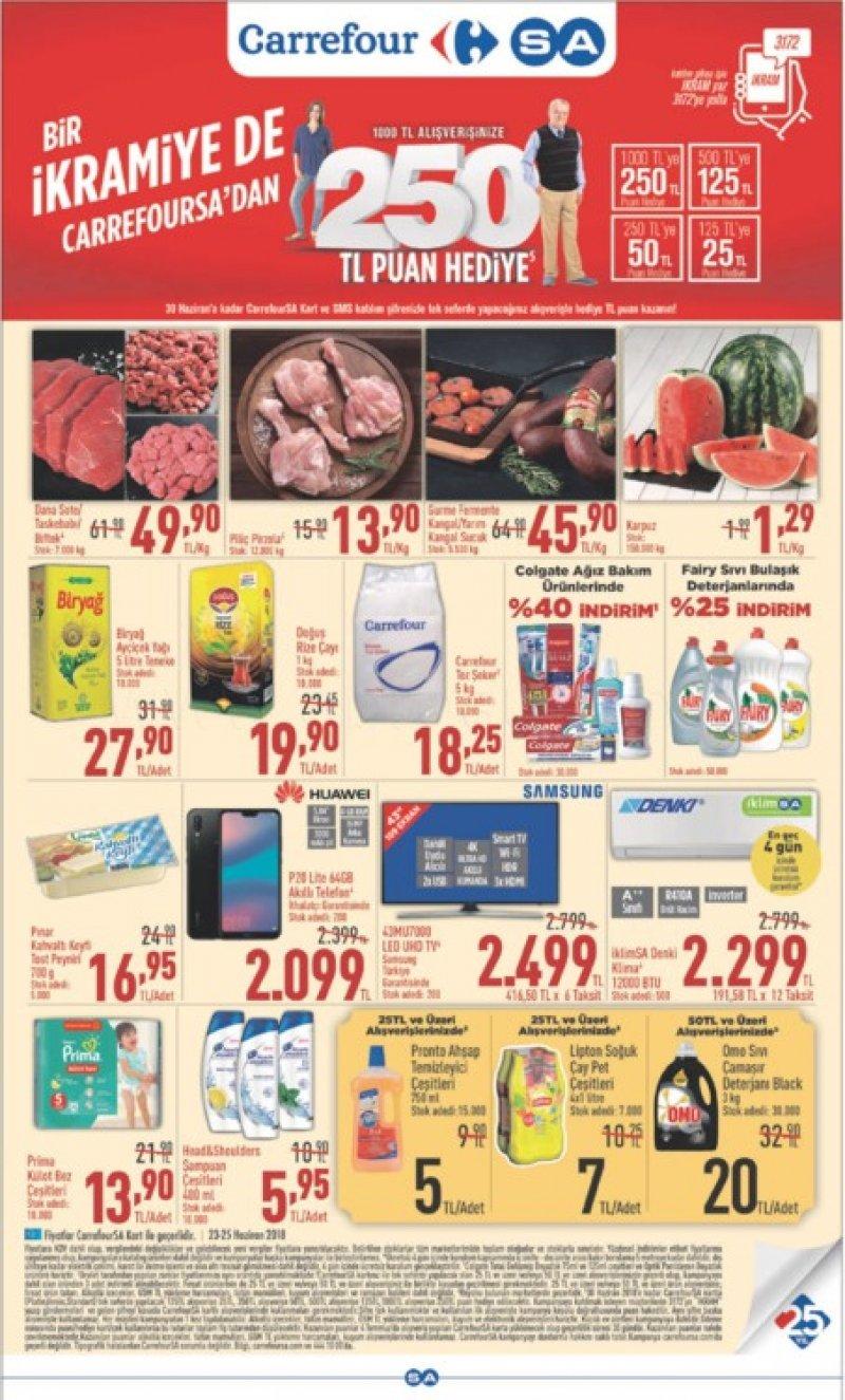 25 Haziran Carrefour Aktüel 2018 - Sayfa 1