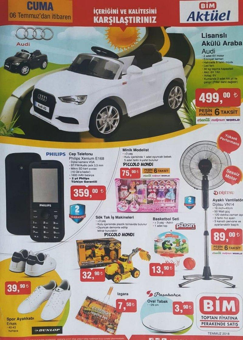 6 Temmuz Bim Aktüel 2018 - Sayfa 1