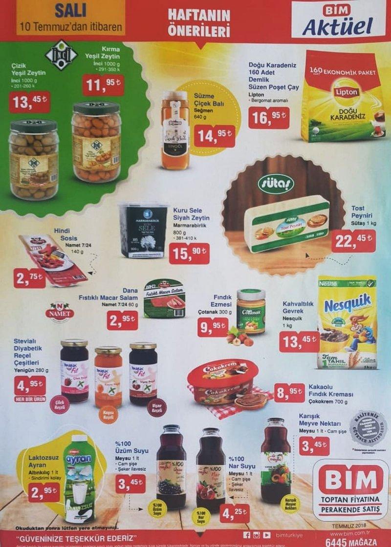 10 Temmuz Bim Aktüel 2918 - Sayfa 1