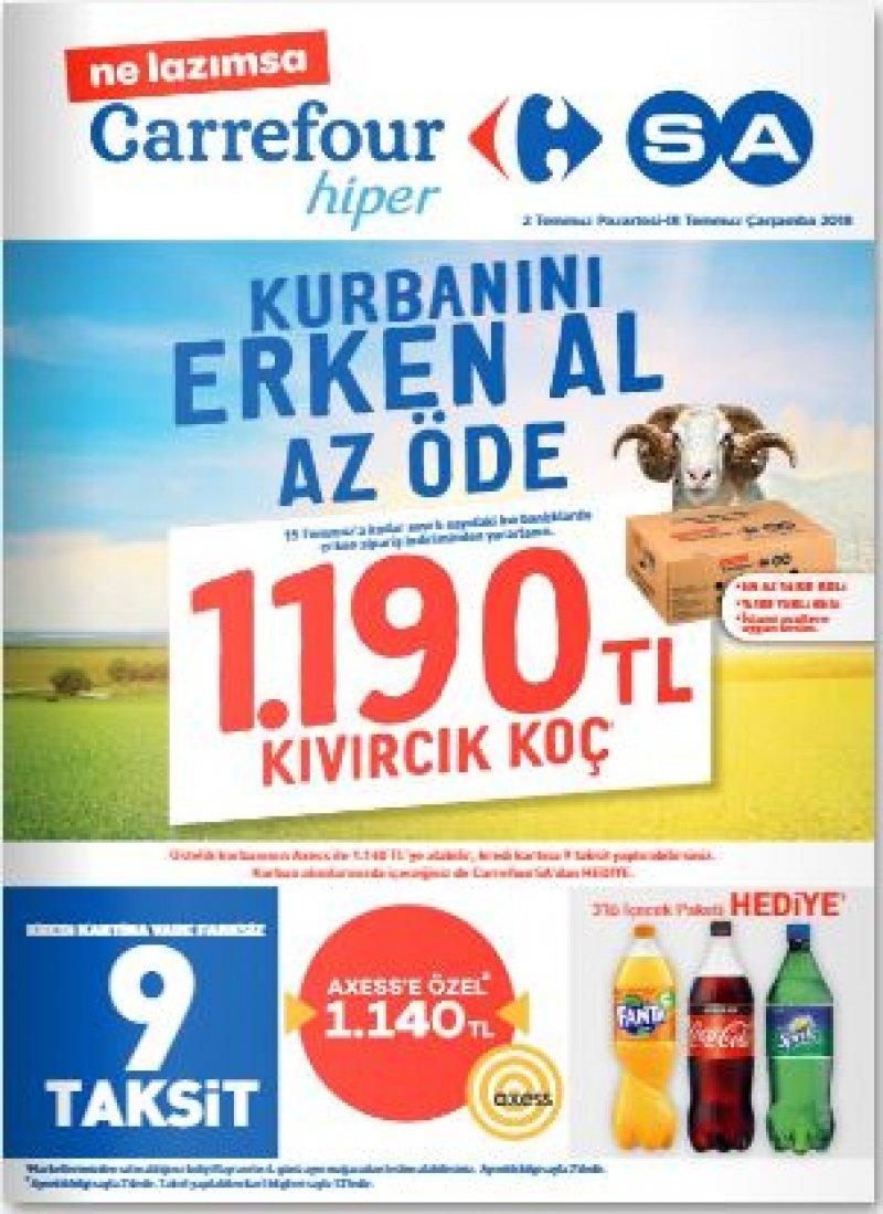 2 Temmuz Carrefour Aktüel 2018 - Sayfa 1