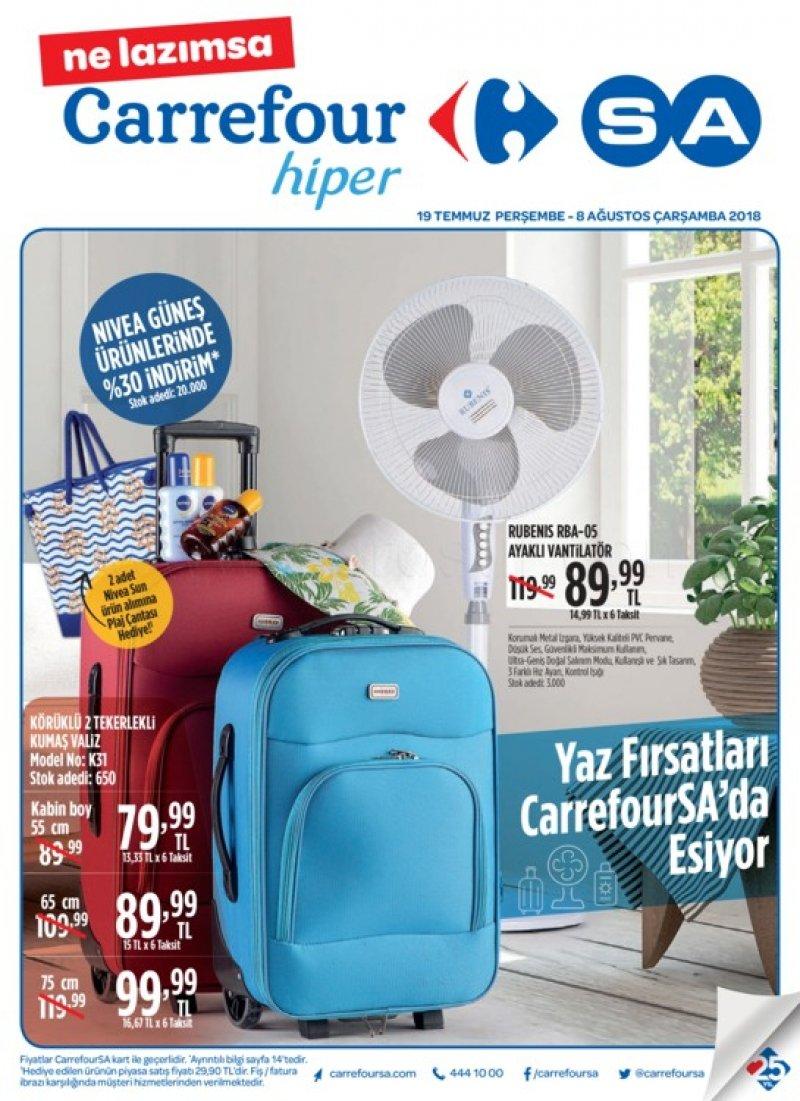 19 Temmuz Carrefour Hiper Aktüel 2018 - Sayfa 1