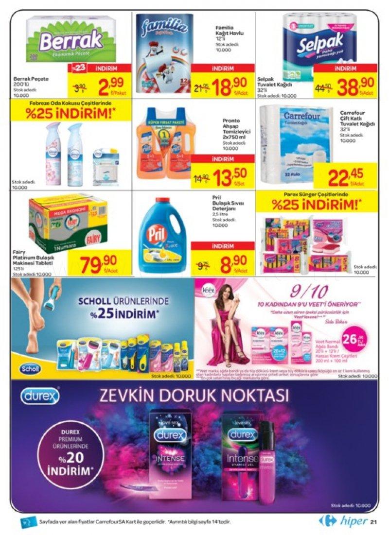 21 Temmuz Carrefour Aktüel 2018 - Sayfa 1