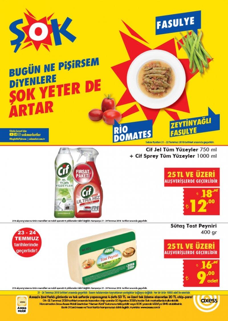 21 Temmuz Şok Aktüel 2018 - Sayfa 1