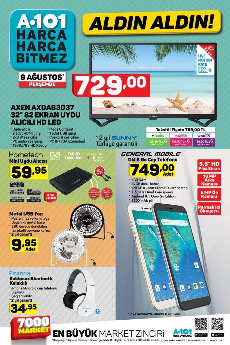 9 Ağustos A101 Aktüel 2018 - Sayfa 3