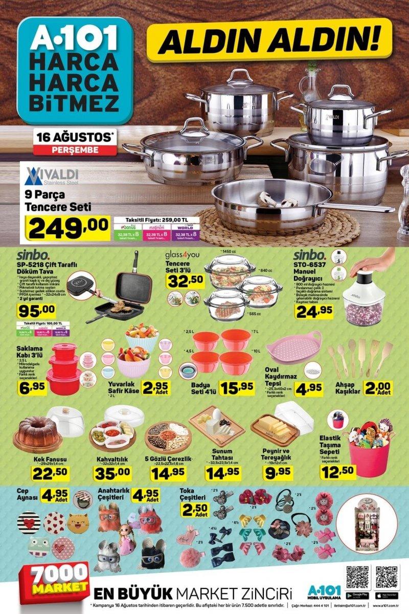 11 Ağustos A101 Aktüel 2018 - Sayfa 9